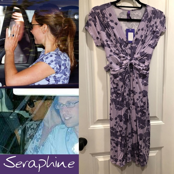 reasonable price best selection of compare price Seraphine Lavender Floral Dress ASO Kate Middleton NWT